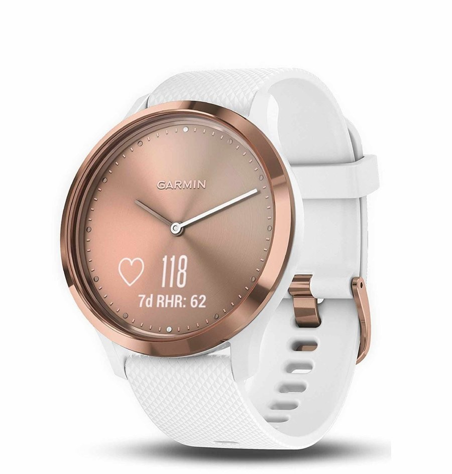 SAT  VIVOMOVE HR SPORT ROSE-GOLD