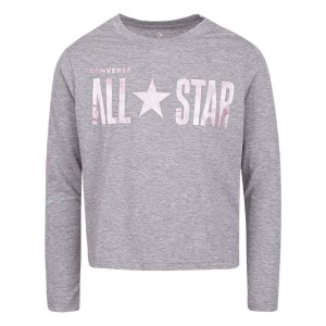 MAJICA All Star Cropped LS Boxy Tee