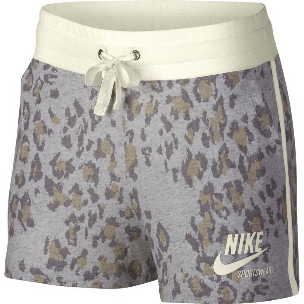 HLAČICE W NSW GYM VNTG SHORT LEOPARD